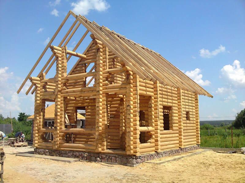 Фото строительных домов